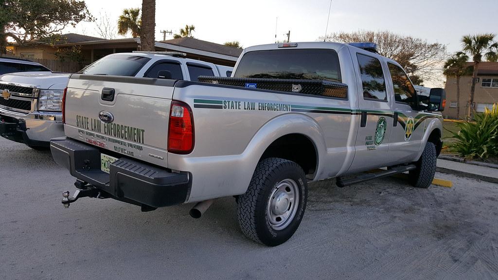 Florida fish wildlife law enforcement fwc ford f 250 for Florida fish and wildlife jobs