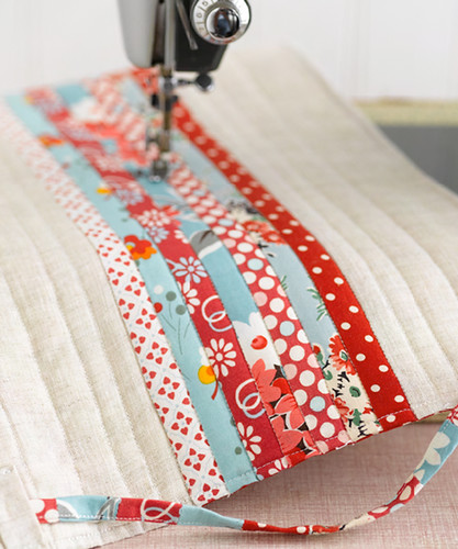 I Love Patchwork Preview - Sewing Machine Cover | by ♥rashida coleman-hale♥