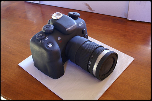 Canon Camera Cake Step By Step