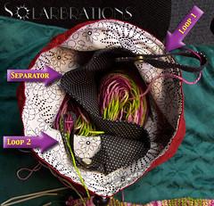 Knit2 Bag, inside