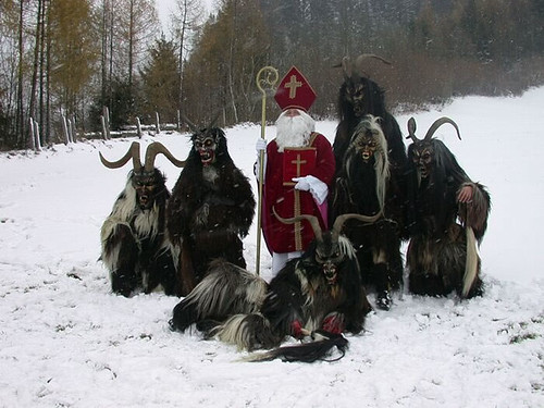santa and krampus 2 | by Boju