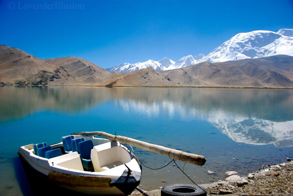 Karakul Lake Map Karakul Lake And mt Muztagata
