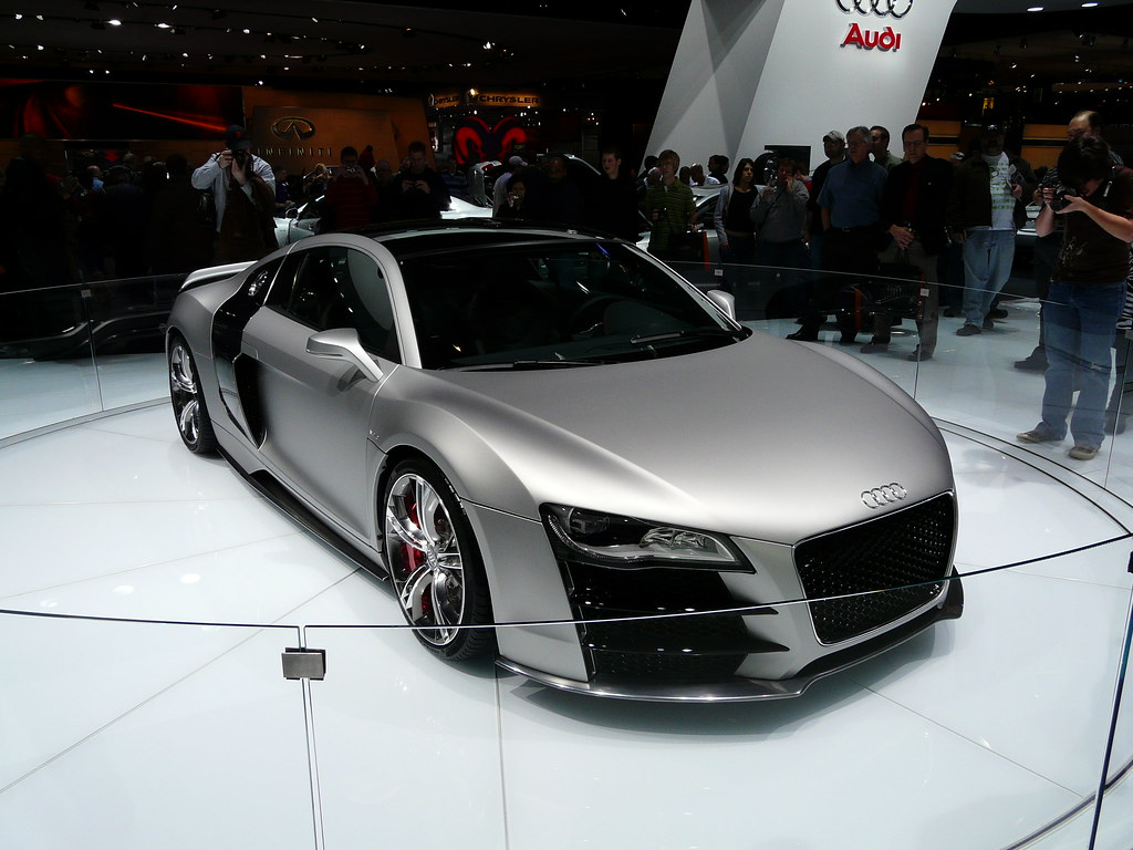 audi r8 v12 tdi concept audi r8 v12 tdi concept car shown flickr. Black Bedroom Furniture Sets. Home Design Ideas