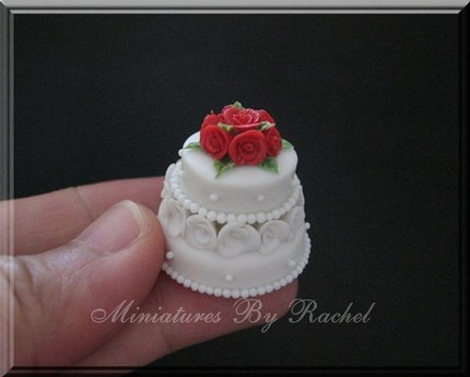Miniature Two Tier Cake