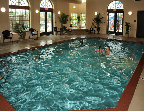 Indoor pool and whirlpool temperature controlled for - Indoor swimming pool temperature regulations ...