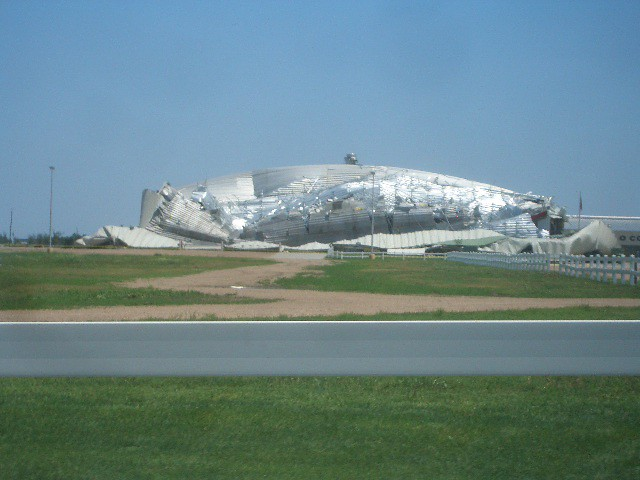 Fairgrounds Building Destroyed Two Tornadoes Hit Kearney