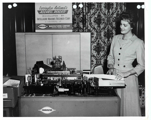 Farrington Automatic Address Reading Machine | by Smithsonian Institution