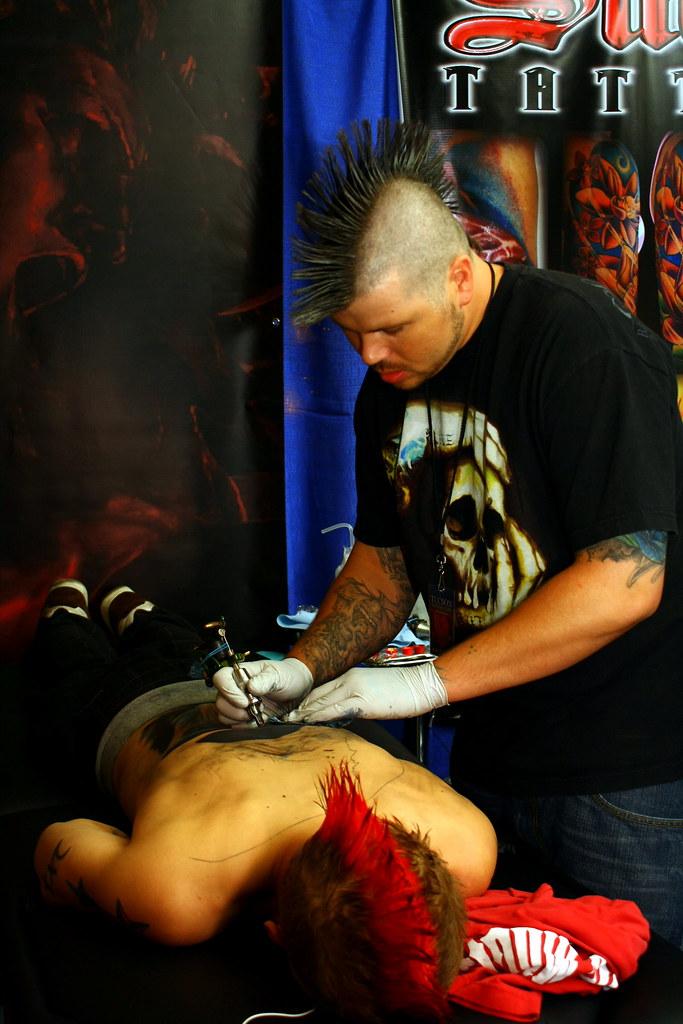 Josh hagen performing josh hagen from sacred art tattoo for Sacred art tattoo tucson