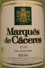 Marques de Caceres 2006 White Rioja (front) | by 2 Guys Uncorked