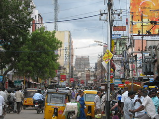 India - Madurai - 001 - typical south Indian cityscape | by mckaysavage
