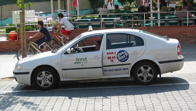 Skoda Octavia Taxi Lloret De Mar Spain Davekpcv Flickr