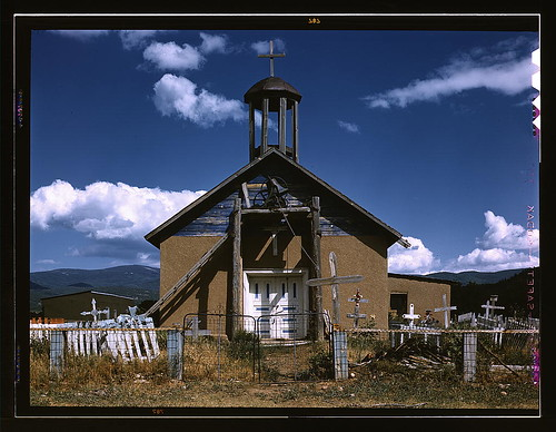 Llano de San Juan, New Mexico, Catholic Church  (LOC) | by The Library of Congress