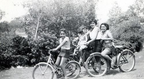 1955 Bike ride | by treasureup
