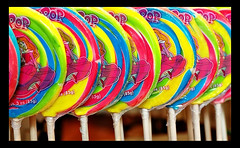 lollipops at disneyland candy palace | by Miro-Foto