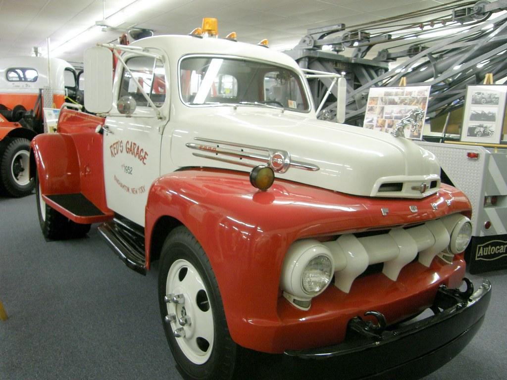 1952 F6 Ford Wrecker Owned By C Schmidt Amp Son Roslyn N Y
