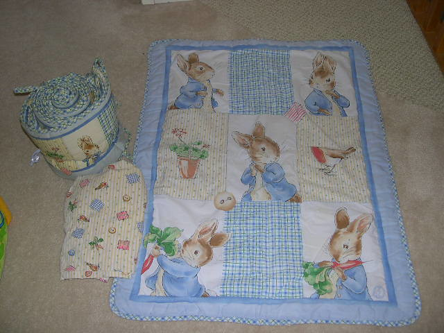 Peter Rabbit 3 Piece Bedding Set 50 Excellent Quality