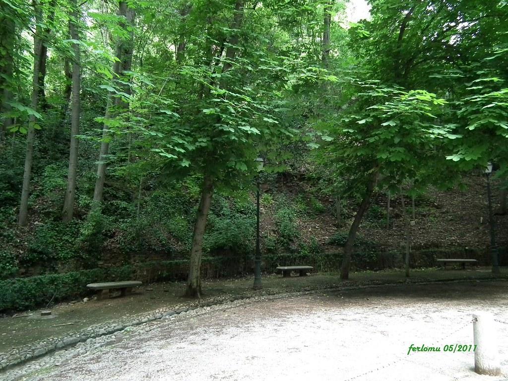 Granada jardines de la alhambra granada jardines de la for Jardines de arabial granada