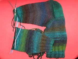 Noro Socks WIP | by Velma's World