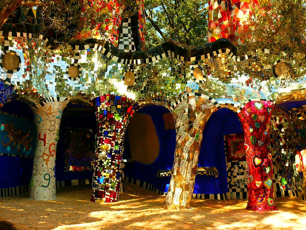 Tarot Garden Of Niki De Saint Phalle Andreas Flickr