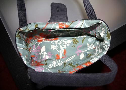 Handbag Lining Material : Amy butler smart handbag lining moda fabric this is a
