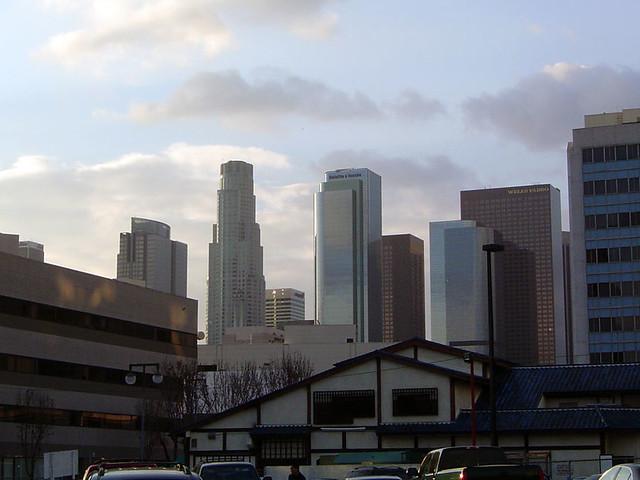 los angeles skyline view - photo #19