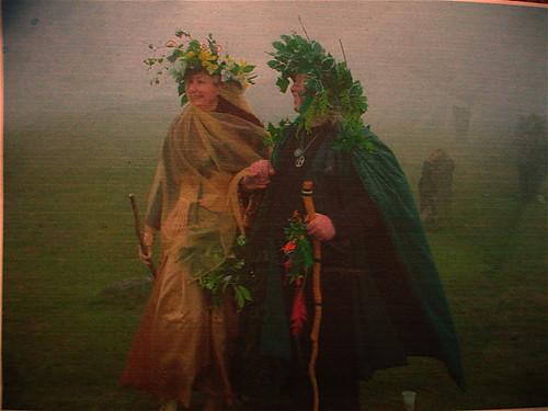 Mum And Brian At Their Pagan Wedding