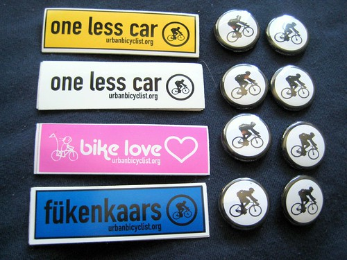 1 Inch Buttons and Stickers | by urbanbicyclist