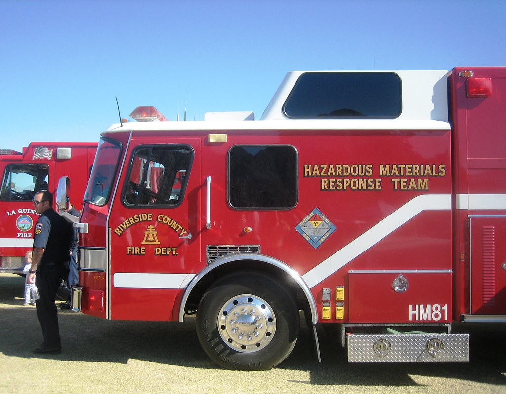 New California Fire >> Fire Truck E-One Hazmat Response Team | Seen in Indian Wells… | Flickr