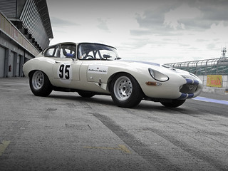 Peter Newman's Jaguar E Type Coupe - Silverstone 2008 pt.2 | by Motorsport in Pictures