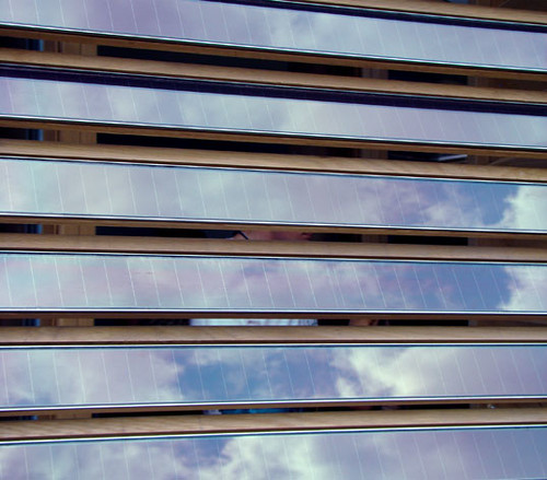 Darmstadt: Photovoltaic Shutters | by Inhabitat