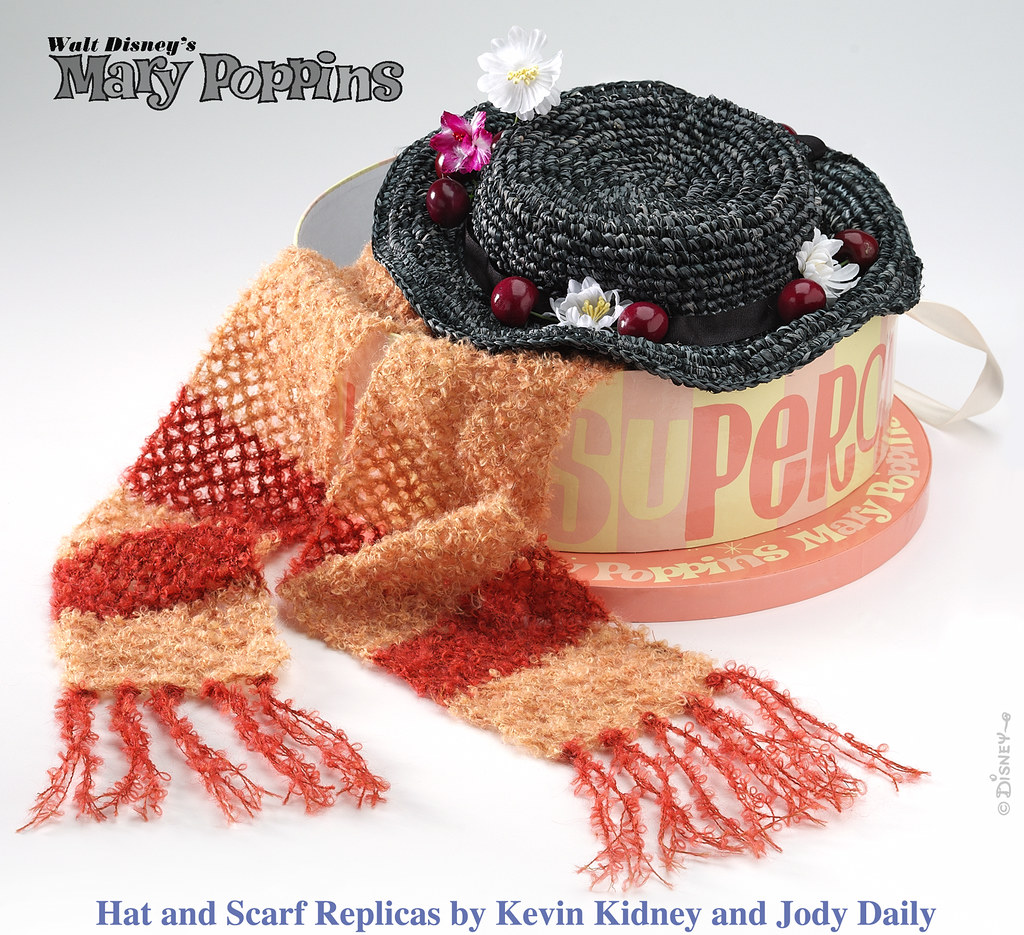 Mary Poppins Hat And Scarf Mary Poppins Hat Scarf