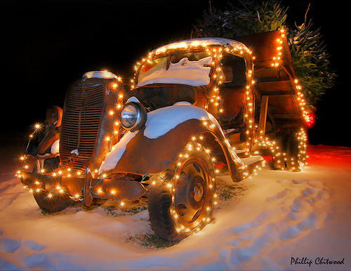 Vermont Christmas Tree Delivery Truck | by Phillip Chitwood