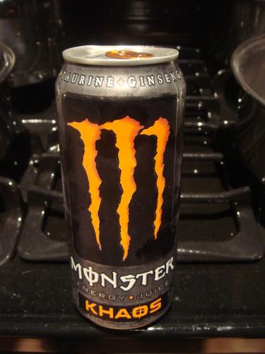 Monster Energy Khaos | Orange soda base. Tastes great ...