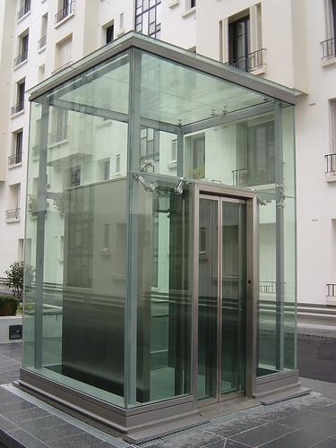 Panoramic Glass Elevator Ascenseur Emch Vitr 233 Rue Pau Ca