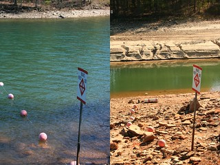 Drought Lake Lanier - compare | by Brian Hursey