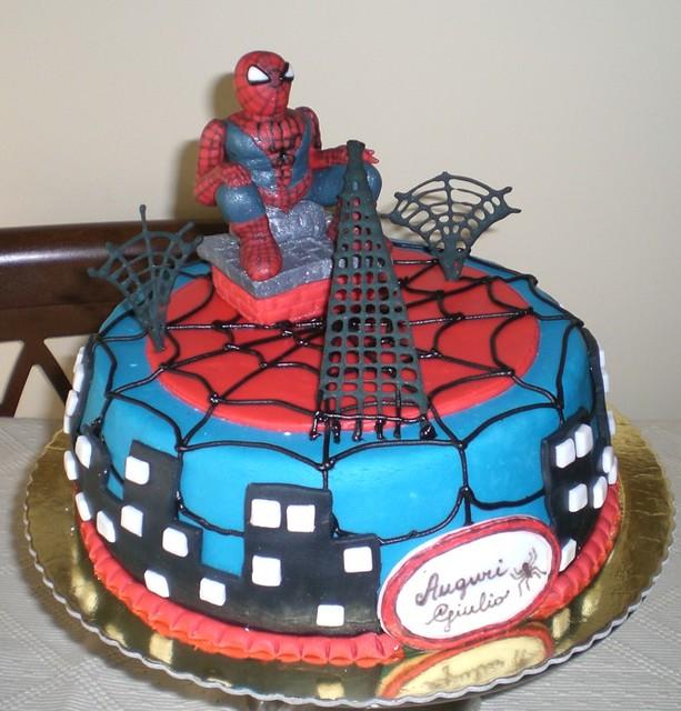 Spiderman Torte Wwwpicswecom