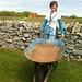 Brandy w wheel barrel