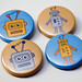 Toy Robots - pinback buttons