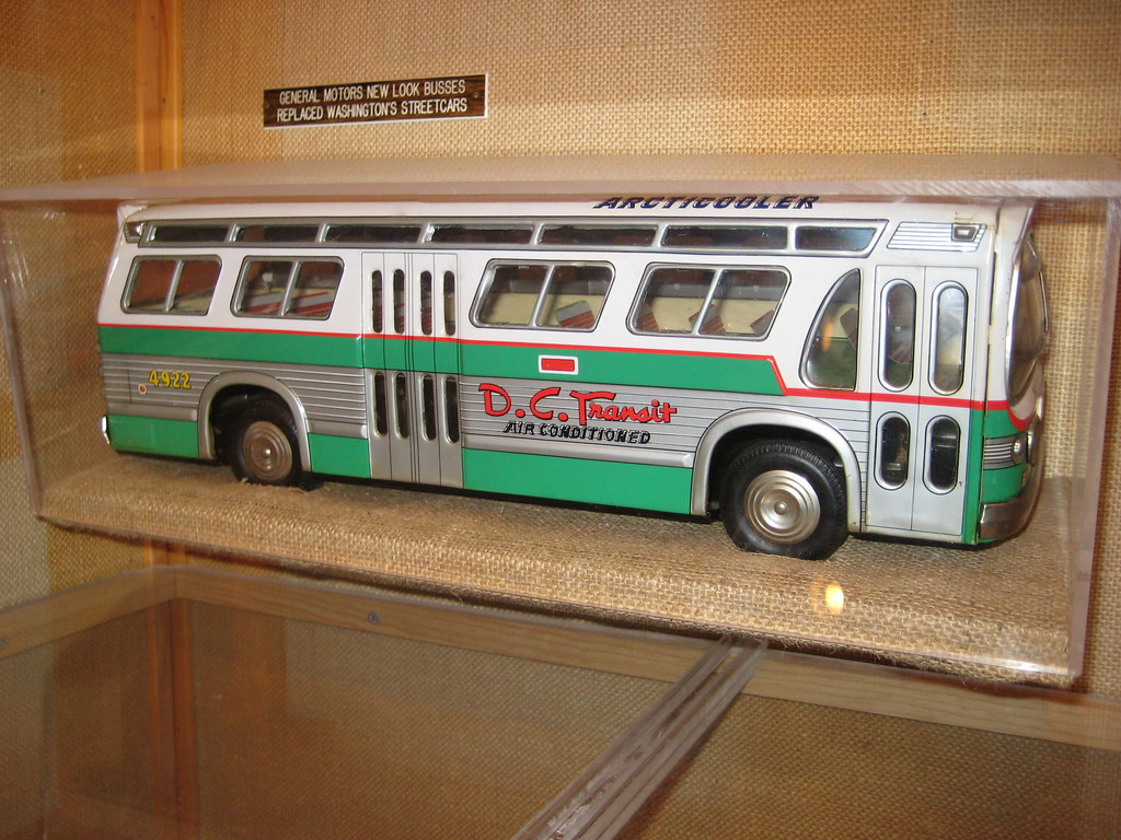 Toy D C Transit Bus Toy D C Transit Bus At The