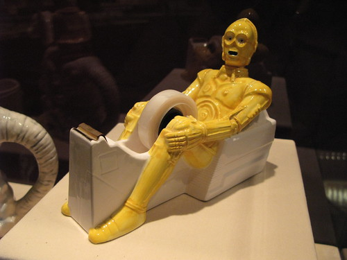 C3P0 tape dispenser | by nicknormal