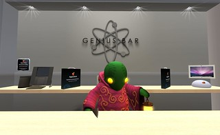 "This ""Apple"" Store has a new Genius 