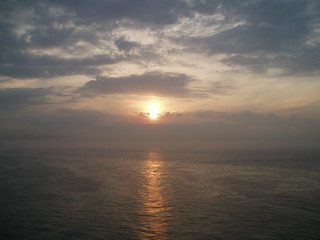 Sunset over the English Channel | by jane_sanders