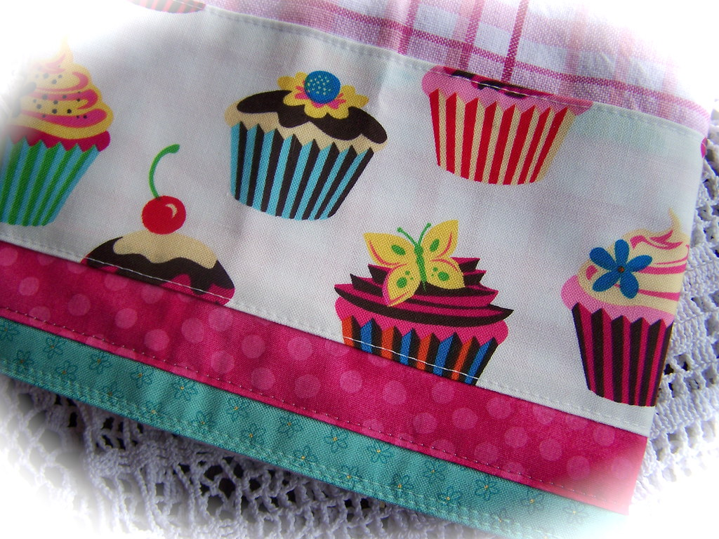 Cupcake Kitchen Decorating With Towels A Decorated Tea