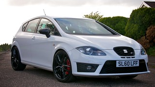 Craig's 2010 Seat Leon Cupra R, now with Gloss Black Wheels and Eibach Springs | by al broon