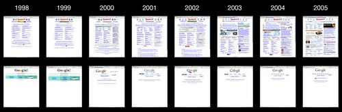 Yahoo vs google home page design evolution sockyung 39 sox 39 hong flickr - Google home page design ...