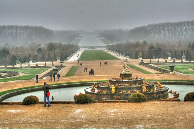 Vue du jardin du chateau de versailles vamp8888 flickr for Jardin chateau de versailles