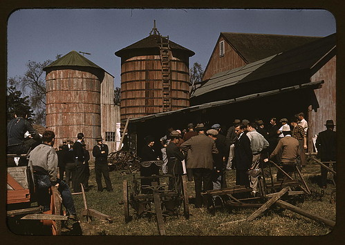 Farm auction, Derby, Conn.  (LOC) | by The Library of Congress