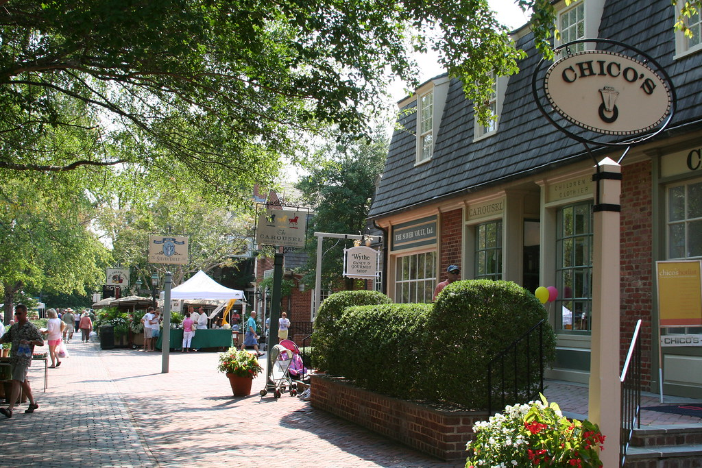 Downtown Williamsburg Colonial Williamsburg Is Meant To