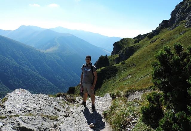 Hiking Veľký Rozsutec, Little Fatra National Park, Slovakia