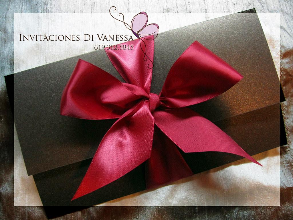 Calla Lily Wedding Invitation | The invitation closed measur… | Flickr